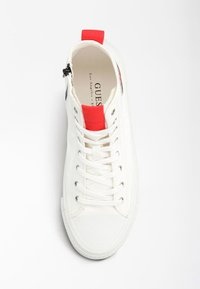 Guess - EDERLE HI - High-top trainers - white red - 3