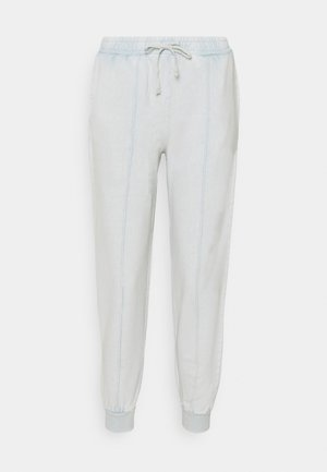 ACID WASH JOGGER - Tracksuit bottoms - sage
