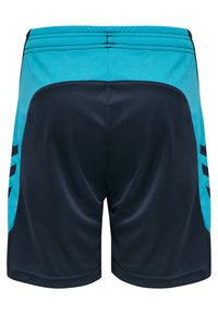 Hummel - HMLACTION  - Sports shorts - black iris/atomic blue - 1