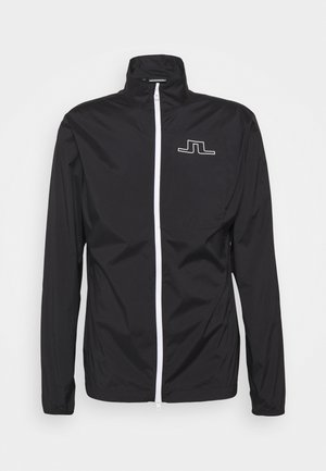 ASH LIGHT PACKABLE GOLF JACKET - Training jacket - black