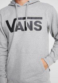 Vans - MN VANS CLASSIC PO HOODIE II - Hoodie - cement heather/black - 4