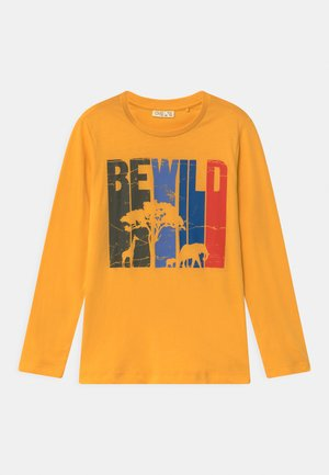Longsleeve - yolk yellow
