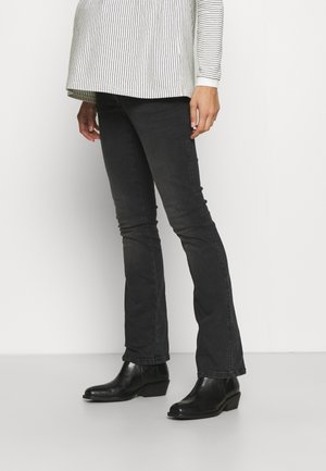 JUDY EMBROIDERY - Jeans Skinny Fit - charcoal
