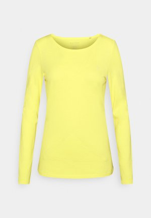 ROUND NECK - Long sleeved top - bleached sun