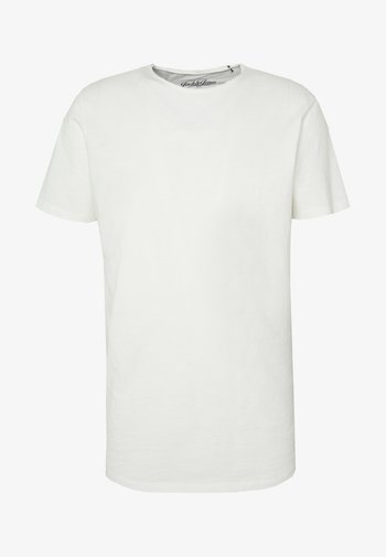 JJEASHER TEE O-NECK NOOS - T-shirt - bas - cloud dancer