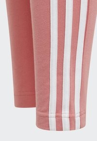 adidas Performance - STRIPES COTTON LEGGINGS - Leggings - pink - 6