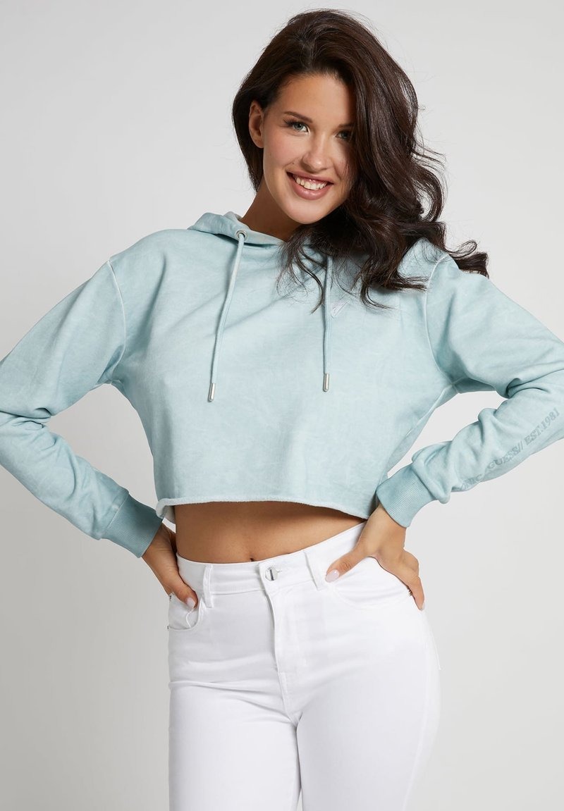 Guess - MINI TRIANGLE - Sweater - himmelblau