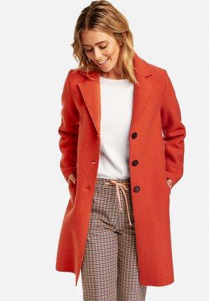KURZ MIT WOLLANTEIL - Short coat - pumkin