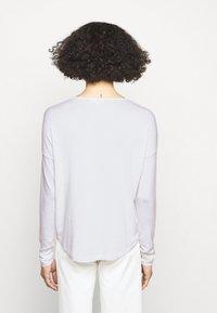 rag & bone - THE VEE - Long sleeved top - white - 2