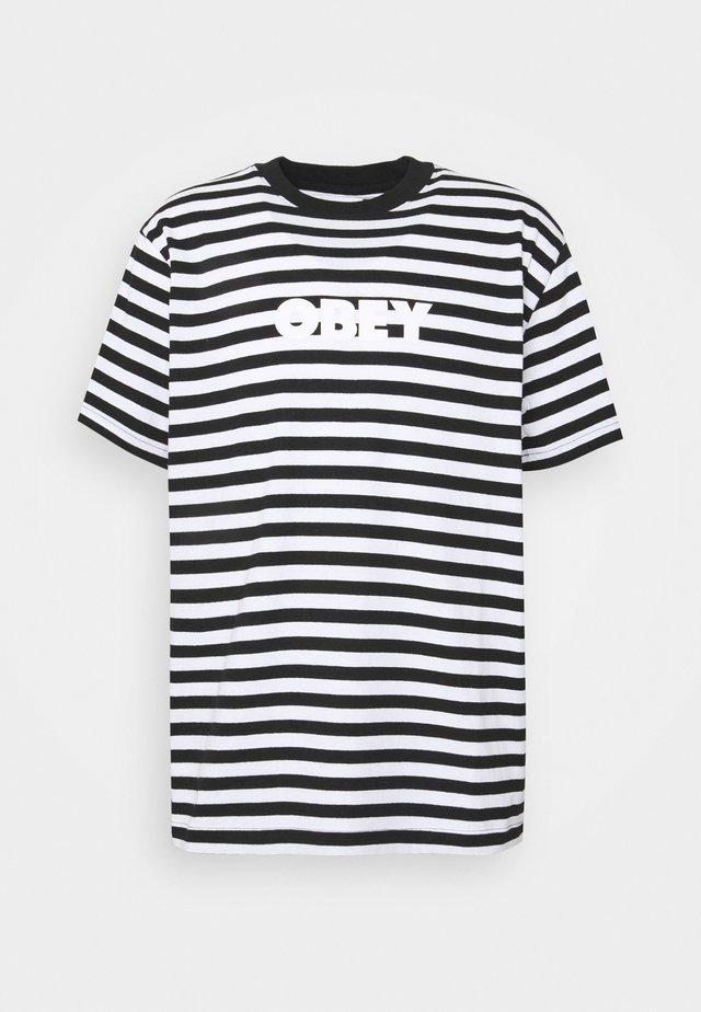 JOY TEE - T-shirts med print - black/multi