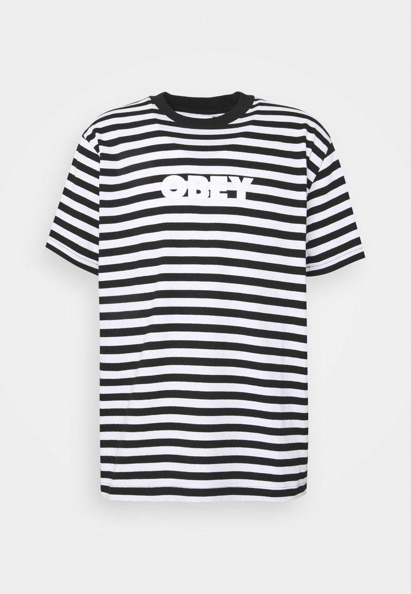 Obey Clothing - JOY TEE - Printtipaita - black/multi