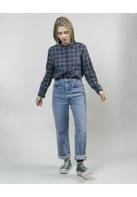 Brava Fabrics - WOODCUTTER ESSENTIAL - Button-down blouse - blue - 1