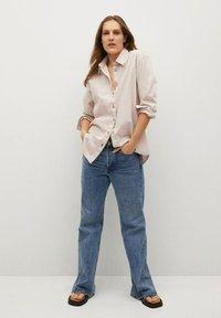 Mango - Button-down blouse - crudo - 1