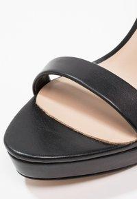 ALDO - MADALENE - Korolliset sandaalit - black - 5