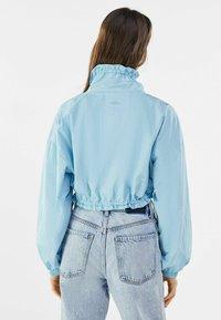 Bershka - Summer jacket - light blue - 2