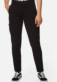 Mavi - JULIA - Trousers - black - 0