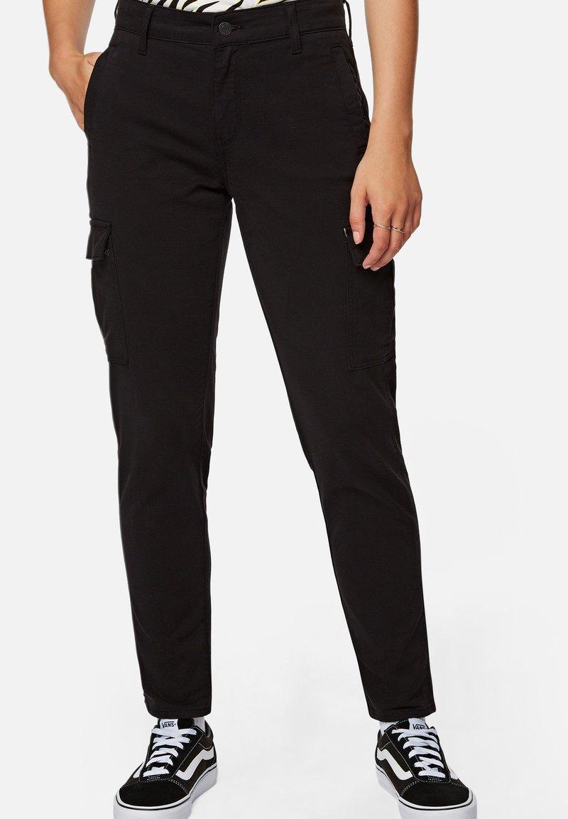 Mavi - JULIA - Trousers - black