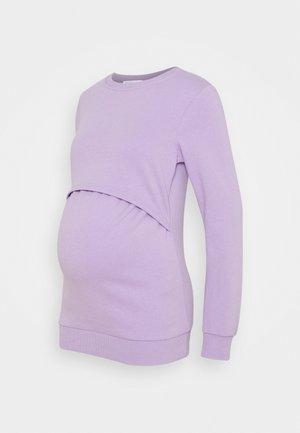 NURSING - Sweatshirt - Sweatshirt - lilac
