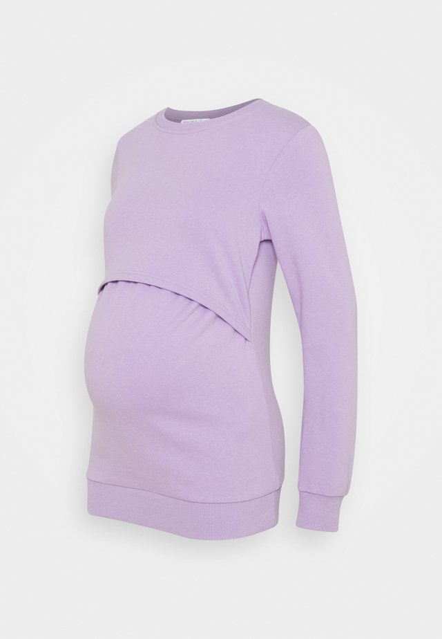 NURSING - Sweatshirt - Mikina - lilac
