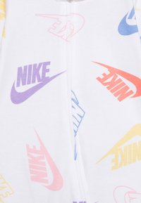 Nike Sportswear - FOOTED COVERALL - Pyjamas - white - 2