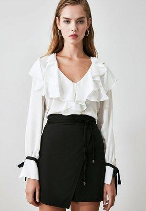 Falda cruzada - black