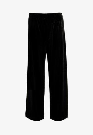 CLEO PARTY TROUSERS - Kalhoty - black