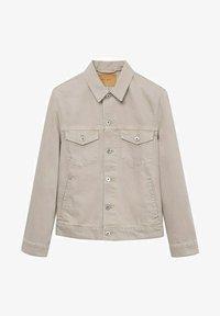 Mango - Denim jacket - open beige - 6