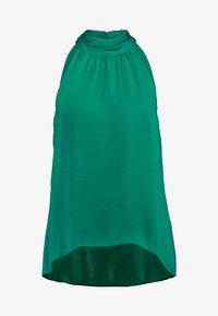 TWIST NECK - Blouse - palm green