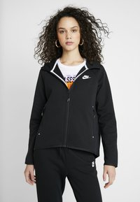 Nike Sportswear - Zip-up hoodie - black/white - 0