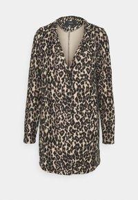 Vero Moda - VMBRUSHEDKATRINELE - Short coat - sepia tint - 4