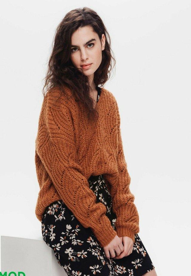 Pullover - marron