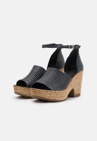Felmini - MESHA - High heeled sandals - black - 2