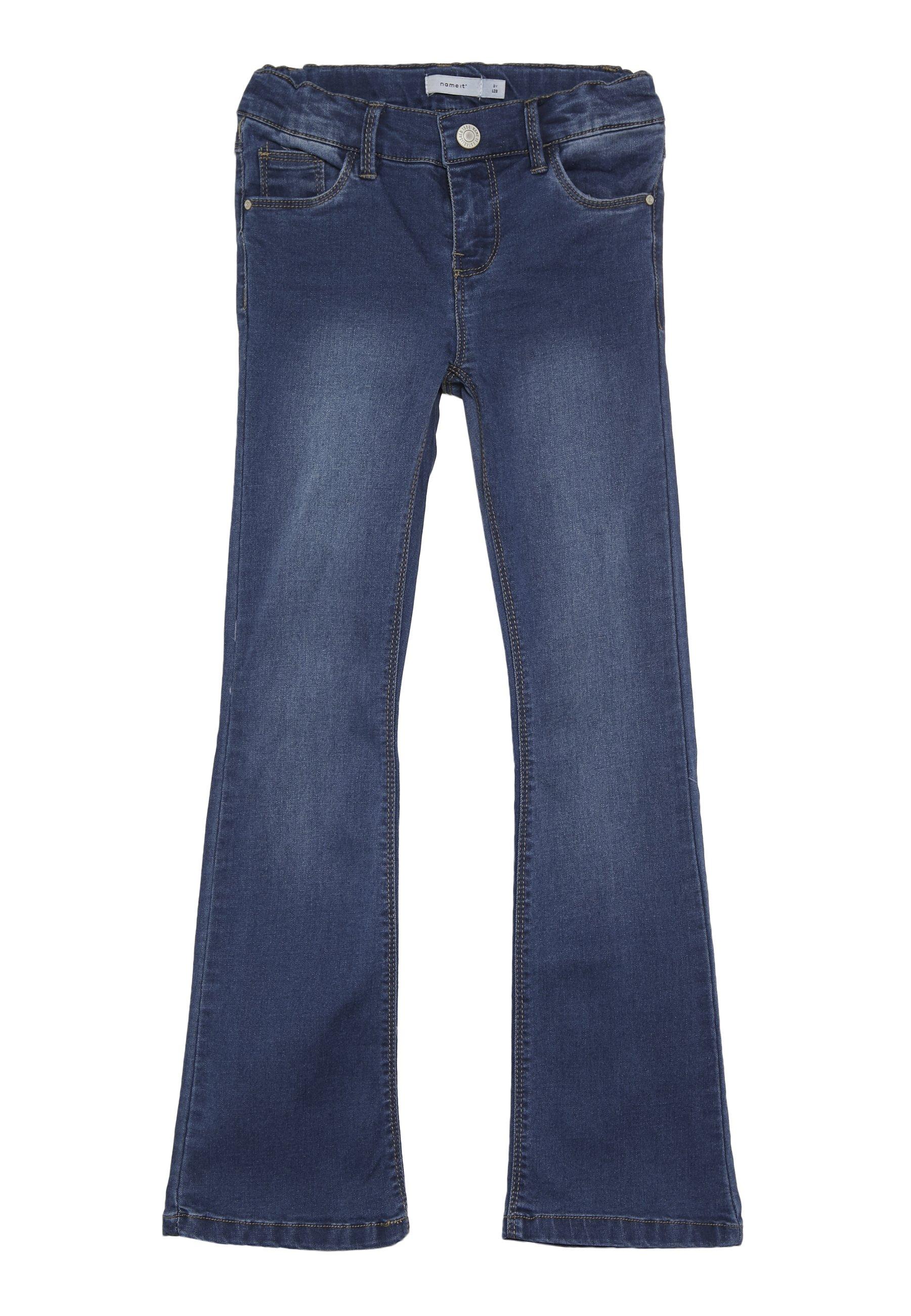 Kids NKFPOLLY DNMINDIGO BOOTCUT  - Bootcut jeans
