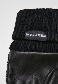 Urban Classics - Rękawiczki z jednym palcem - black - 3