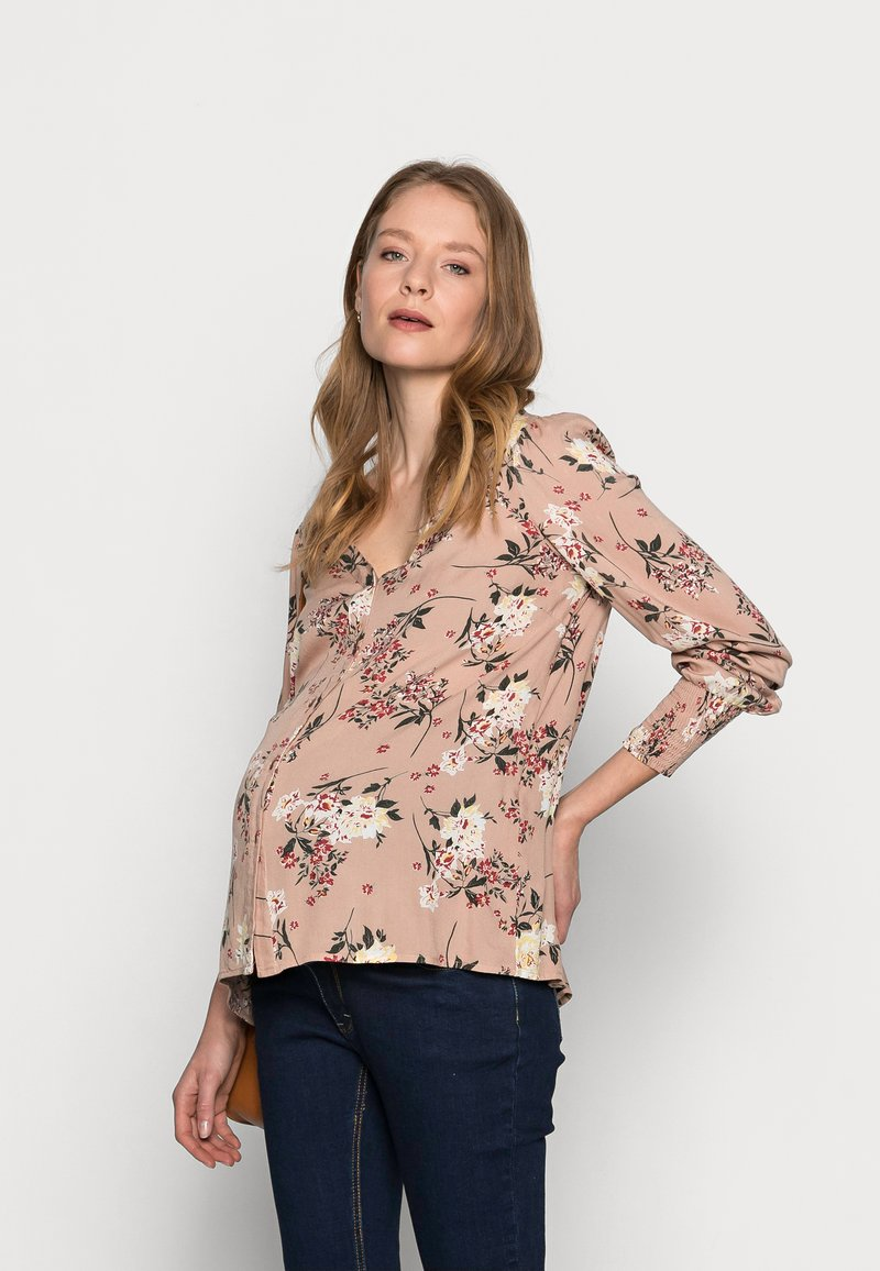 Pieces Maternity - PCMPAOLA  - Blouse - warm taupe