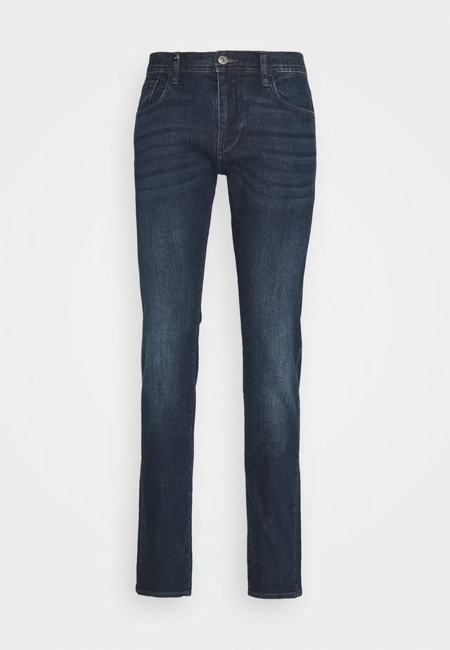 POCKETS PANT - Slim fit jeans - indigo denim
