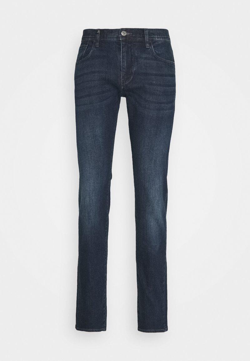 Armani Exchange - POCKETS PANT - Slim fit jeans - indigo denim