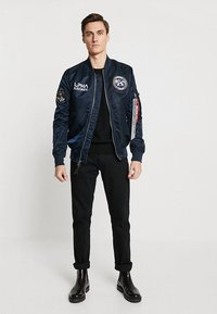 Alpha Industries - MOON LANDING - Bomberjacks - blue - 1