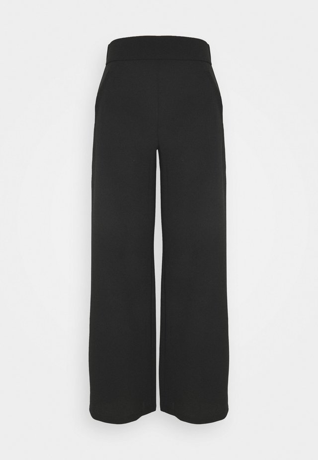 JDYLOUISVILLE CATIA WIDE PANT - Trousers - black