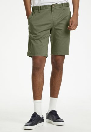 MAPRISTU SH CHINO - Shorts - light army