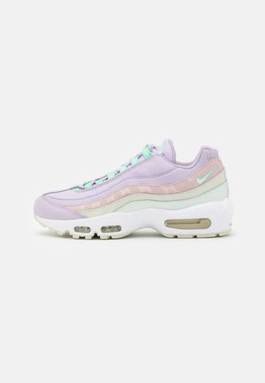 AIR MAX 95 - Sneakersy niskie - infinite lilac/white/sea glass/green glow/barely rose/barely green
