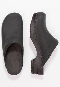 Sanita - CHRISSY OPEN - Clogs - black - 3
