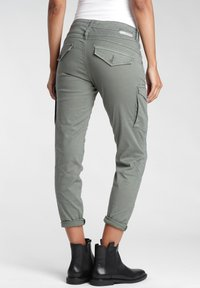 Gang - AMELIE  - Relaxed fit jeans - green thyme old - 1