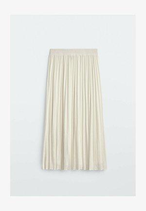 MIT STRETCHBUND  - Spódnica trapezowa - beige