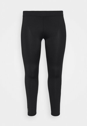 ONPADREY TRAINING CURVY - Tights - black/white