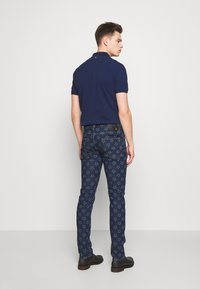 Just Cavalli - PANTS POCKETS STARS - Džíny Slim Fit - blue denim - 2