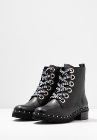 Steve Madden - TESS - Bottines à lacets - black - 4
