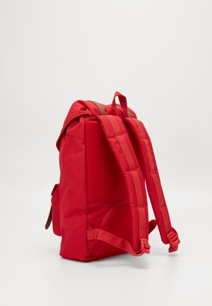 LITTLE AMERICA MID VOLUME - Rucksack - red/saddle brown