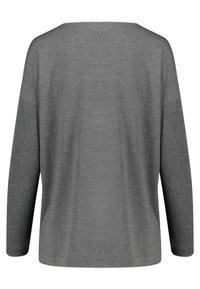 Hanro - NATURAL ELEGANCE SET  - Pyjama - anthracite - 1