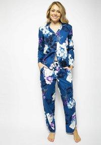 Cyberjammies - Pyjama bottoms - blue floral - 1